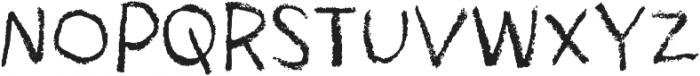 Drawzing Regular otf (400) Font UPPERCASE