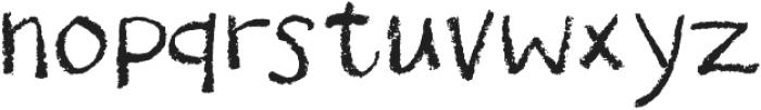 Drawzing Regular otf (400) Font LOWERCASE