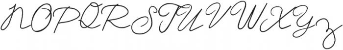 Dream A Little Dream ttf (400) Font UPPERCASE