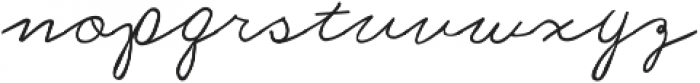 Dream A Little Dream ttf (400) Font LOWERCASE