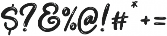 Dream Meadow otf (400) Font OTHER CHARS
