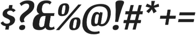 Dream Orphanage Bold Italic otf (700) Font OTHER CHARS