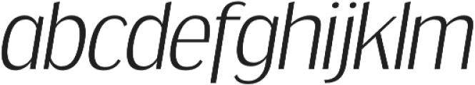 Dream Orphanage Light Italic otf (300) Font LOWERCASE