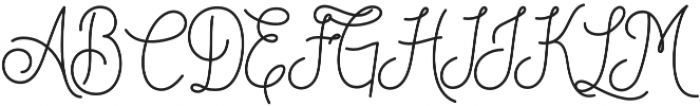 DreamCatchers  otf (400) Font UPPERCASE