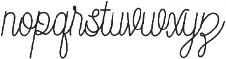 DreamCatchers  otf (400) Font LOWERCASE