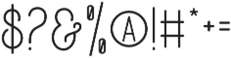 DreamCatchersSan otf (400) Font OTHER CHARS