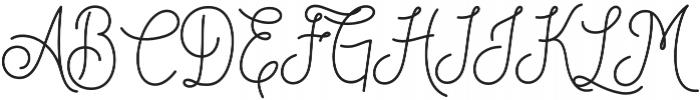 DreamCatchersSan otf (400) Font UPPERCASE