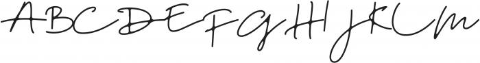 DreamOnly otf (400) Font UPPERCASE