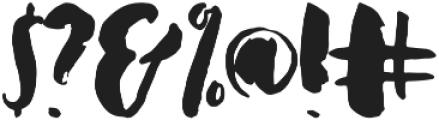 Dreamcatcher otf (400) Font OTHER CHARS