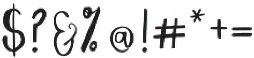 Dreamer Script otf (400) Font OTHER CHARS