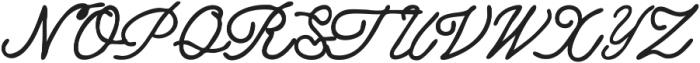 Dreaming ttf (400) Font UPPERCASE