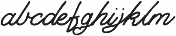 Dreaming ttf (400) Font LOWERCASE