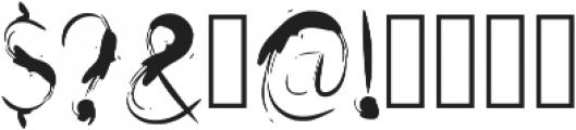 Drfaq Regular otf (400) Font OTHER CHARS