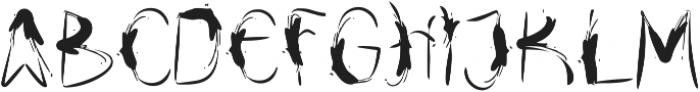 Drfaq Regular otf (400) Font UPPERCASE