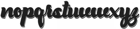 Drift Double otf (400) Font LOWERCASE