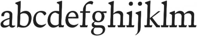 Driftmark Regular otf (400) Font LOWERCASE