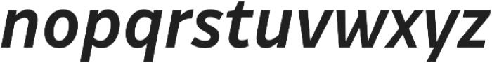 Drive Medium Italic otf (500) Font LOWERCASE