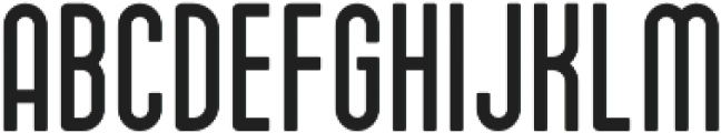 Drive-in Solid otf (400) Font UPPERCASE