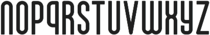Drive-in Solid otf (400) Font LOWERCASE