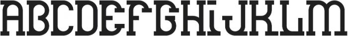 Droid Regular otf (400) Font UPPERCASE