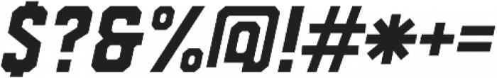 Drone Ranger 01 Oblique ttf (400) Font OTHER CHARS