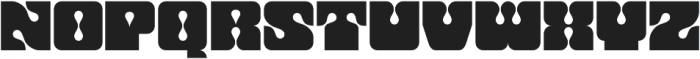 Dropout Regular otf (400) Font UPPERCASE