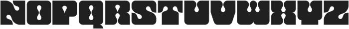 Dropout Regular otf (400) Font LOWERCASE
