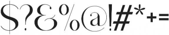 Drops otf (400) Font OTHER CHARS