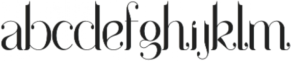 Drops otf (400) Font LOWERCASE