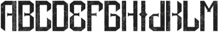 DrunkFont Aged otf (400) Font LOWERCASE