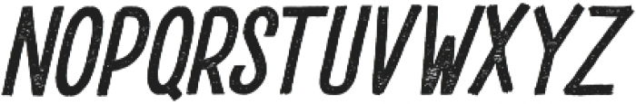 DrusticDialy Condensed Italic otf (400) Font LOWERCASE