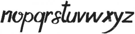 dream alley otf (400) Font LOWERCASE