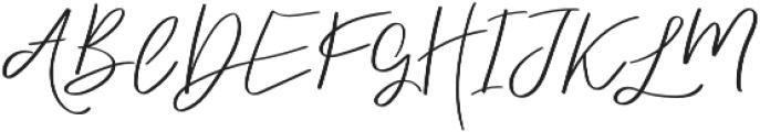 dreaming otf (400) Font UPPERCASE