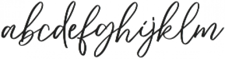 dreaming otf (400) Font LOWERCASE