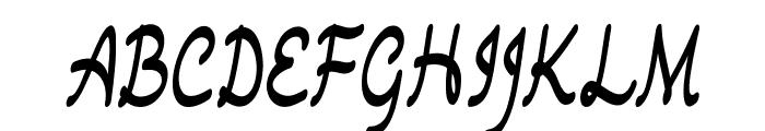 Drawback-CondensedRegular Font UPPERCASE