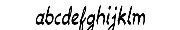 Drawback-CondensedRegular Font LOWERCASE
