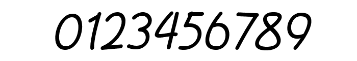 DrawonItalic Font OTHER CHARS