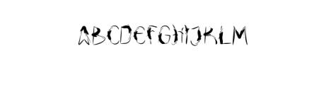 Drfaq.Awesome.ttf Font UPPERCASE
