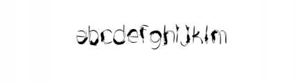 Drfaq.Awesome.ttf Font LOWERCASE