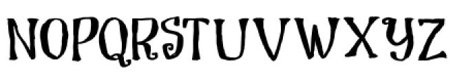 Dragon Spell Regular Font UPPERCASE