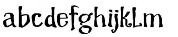 Dragon Spell Regular Font LOWERCASE