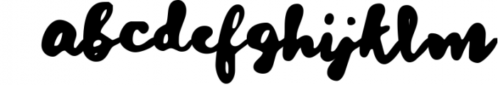 Dreaming Times - Playful Script Font LOWERCASE