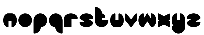 DRAGON FLY-Filled Font LOWERCASE