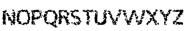DRAGON Font UPPERCASE