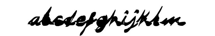 DRAGONFLY saji Font LOWERCASE
