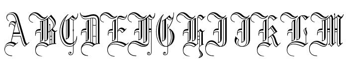 Dr.Po GothicRu Font UPPERCASE