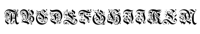 DrPoDecorRu Font UPPERCASE