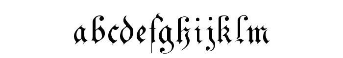 DrPoDecorRu Font LOWERCASE
