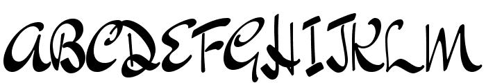 DrSugiyama-Regular Font UPPERCASE