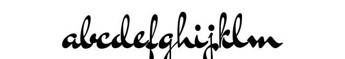 DrSugiyama-Regular Font LOWERCASE